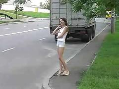 Русская проститутка выебана полицейским