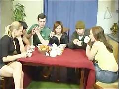Molodaja parochka russkih svingerov