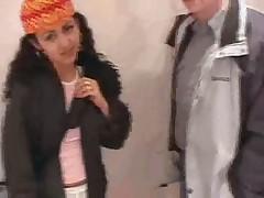 Ljubitel'skoe video s Arabochkoj v Amsterdame