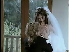 Лесбийская свадьба двух очаровательных красоток