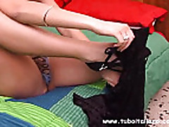 Ljubitel'skoe porno s brjunetkoj iz Evropy