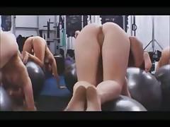 Голый фитнес